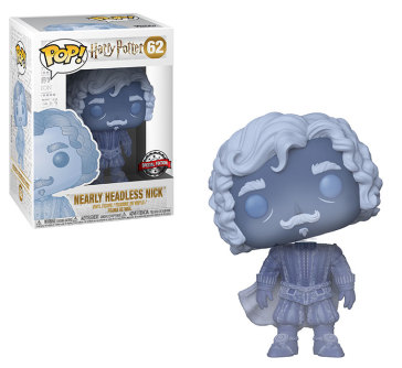 H.P.Pop 62 Nearly Headless Nick (Blue Trans) 9Cm