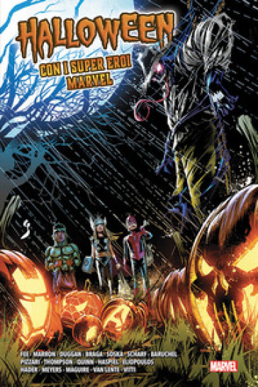 Halloween con i super eroi Marvel