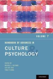 Handbook of Advances in Culture and Psychology, Volume 7