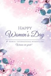 Happy Women s Day 8th March International Women s Day Women Are Great