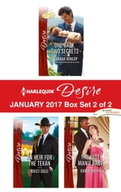 Harlequin Desire January 2017 - Box Set 2 of 2