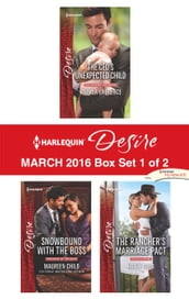 Harlequin Desire March 2016 - Box Set 1 of 2