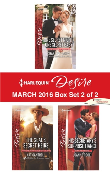 Harlequin Desire March 2016 - Box Set 2 of 2