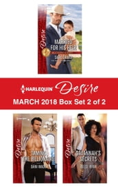 Harlequin Desire March 2018 - Box Set 2 of 2
