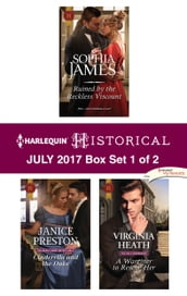 Harlequin Historical July 2017 - Box Set 1 of 2