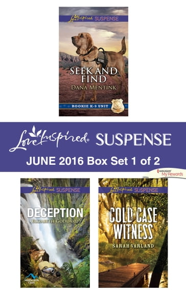 Harlequin Love Inspired Suspense June 2016 - Box Set 1 of 2