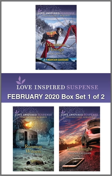 Harlequin Love Inspired Suspense February 2020 - Box Set 1 of 2