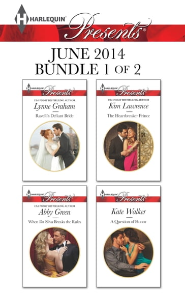 Harlequin Presents June 2014 - Bundle 1 of 2