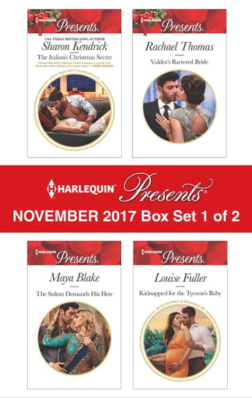 Harlequin Presents November 2017 - Box Set 1 of 2