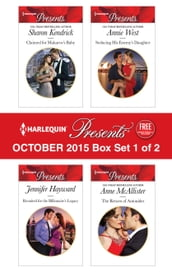 Harlequin Presents October 2015 - Box Set 1 of 2