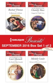 Harlequin Presents September 2016 - Box Set 1 of 2