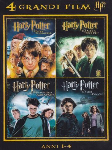 Harry Potter - 4 Grandi Film #01 (4 Dvd)
