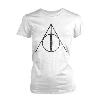 d8384f3b1f2a Harry Potter - Deathly Hallows Symbol (T-Shirt Donna Tg. S) - - idee ...