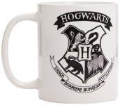 Harry Potter (Hogwarts Crest Black) Coffee Mug - 320 ml