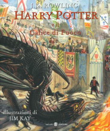 Harry Potter e il calice di fuoco. Ediz. a colori - J. K. Rowling |