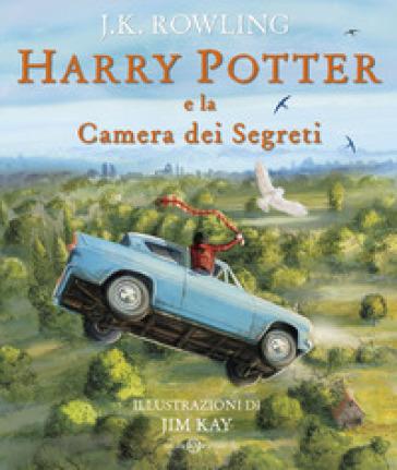 Harry Potter e la camera dei segreti. Ediz. a colori. 2. - J. K. Rowling | Jonathanterrington.com