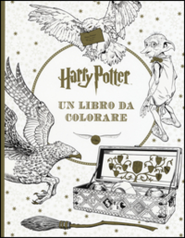 Harry Potter. Un libro da colorare