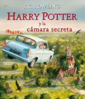 Harry Potter y La Camara Secreta Ilustrado
