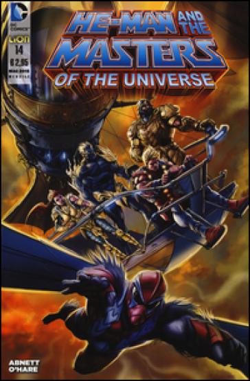 He-Man and the masters of the universe. 14. - Dan Abnett | Rochesterscifianimecon.com