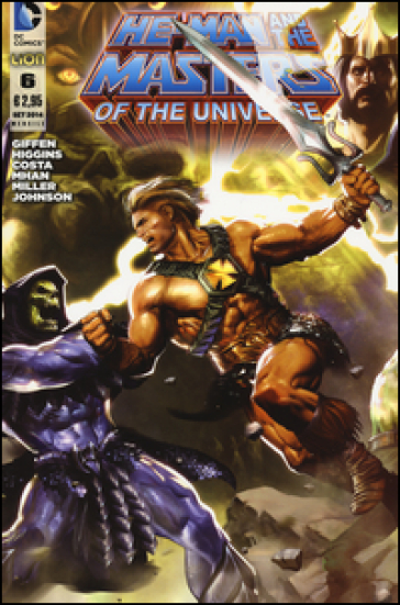He-Man and the masters of the universe. 6.