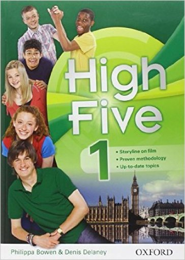 High five. Student's book-Workbook. Con espansione online. Con CD Audio. Per le Scuola media. 1.