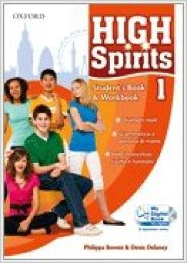 High spirits. Starter-Student's book-Workbook-My digital book. Per la Scuola media. Con CD-ROM. Con espansione online. 1.