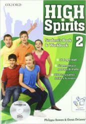 High spirits. Student's book-Workbook-Extrabook. Con espansione online. Per la Scuola media. Con CD-ROM. Con DVD-ROM. 2.