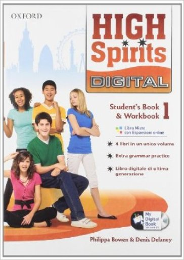 High spirits digital. Student's book-Workbook-Mydigitalbook 2.0. Con espansione online. Per la Scuola media. Con CD-ROM. 1.