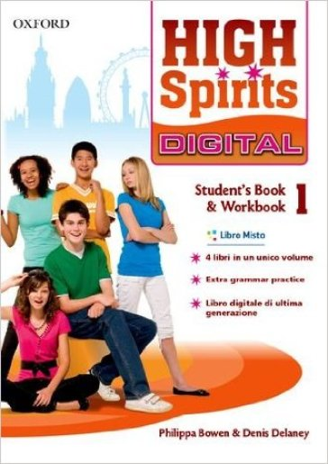 High spirits digital. Student's book-Workbook. Per la Scuola media. Con e-book. Con espansione online. 1.