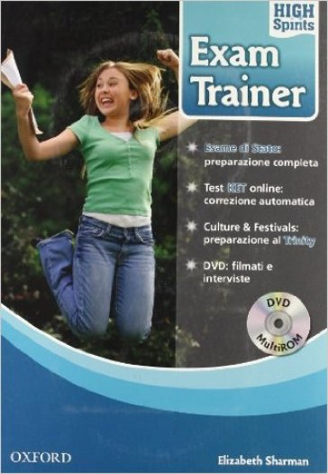 High spirits exam trainer. Student's book. Per la Scuola media. Con DVD-ROM. Con Multi-ROM