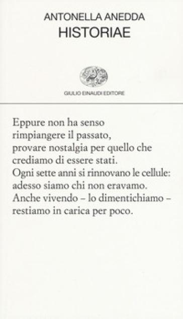 Historiae - Antonella Anedda |