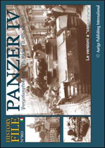 History file. 3.Panzer 4. Le versioni a «canna corta»