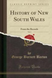 History of New South Wales, Vol. 2