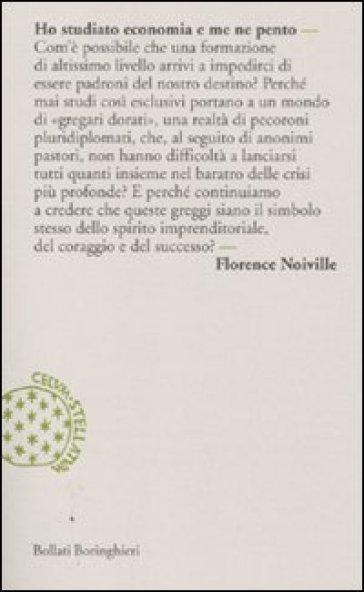 Ho studiato economia e me ne pento - Florence Noiville | Thecosgala.com