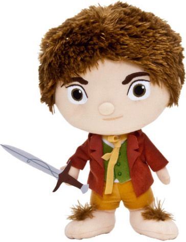 Hobbit the bilbo peluche 18 cm idee regalo for Regalo libri gratis