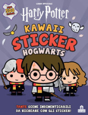 Hogwarts. Kawaii sticker. Harry Potter. Ediz. a colori