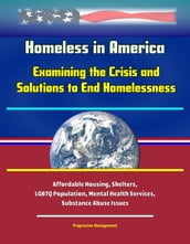 Homeless in America: Examining the Crisis and Solutions to End Homelessness - Affordable Housing, Shelters, LGBTQ Population, Mental Health Services, Substance Abuse Issues