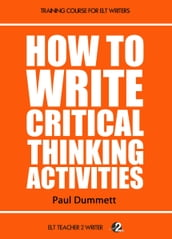 How To Write Critical Thinking Activities