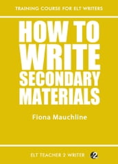 How To Write Secondary Materials
