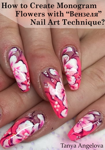 "How to Create Monogram Flowers with """" Nail Art Technique?"