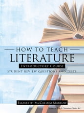 How to Teach Literature Introductory Course
