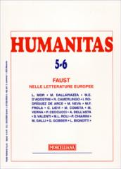 Humanitas (2007) vol. 5-6. Faust nelle letterature europee.