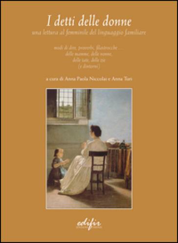 I detti delle donne - A. P. Niccolai | Ericsfund.org