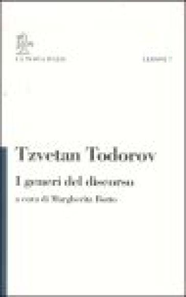 I generi del discorso - Tzvetan Todorov   Rochesterscifianimecon.com