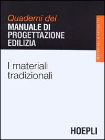 I materiali tradizionali -  pdf epub
