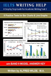 IELTS Writing Help. Academic Task 1 Writing. Practice Tests for Line Graphs & Bar Charts. (with Band 9 Model Answers)