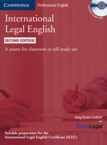 INTERNATIONAL LEGAL ENGLISH  + CD