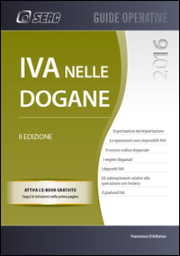IVA nelle dogane - Francesco D'Alfonso | Thecosgala.com