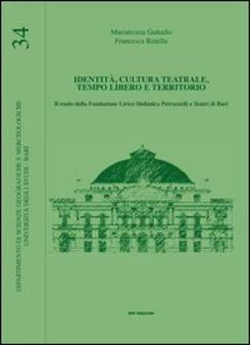 Identità, cultura teatrale, tempo libero e territorio - Francesca Rinella |