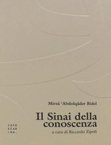 Il Sinai della conoscenza - Mirza Bidel  